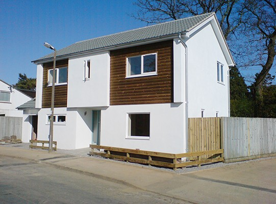 new house build in torquay devon